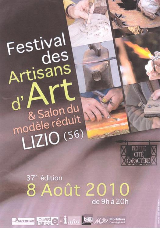 poster of creative handicraftmen at Lizio Brittany