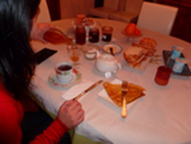 breakfast B&B Saint Jacob les fougerets close to Redon, la Gacilly, Brittany France