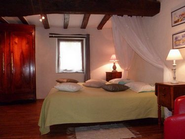 twin room B&B Saint Jacob les fougerets close to Redon, La gacilly Brittany France