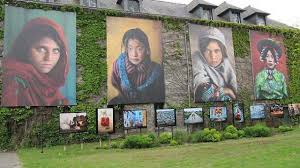 photos exhibition at La Gacilly, 3 miles from B&B Saint Jacob, Brittany south