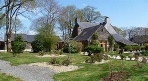 garden B&B Saint Jacob les Fougerets close to Redon ,Rochefort en terre Brittany France